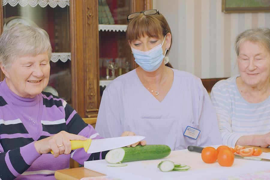 Erfahrungsbericht über die Altenpflege
